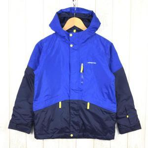 【KID's L】パタゴニア キッズ フレッシュ トラック ジャケット Fresh Tracks Jacket 2レイヤーH2No防水 サーモグリーン 2ndgear-outdoor