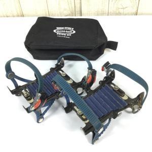 S  モンベル スノースパイク6 クイックフィット 6本爪アイゼン クランポン MONTBELL 1129613 ブルー系 2ndgear-outdoor