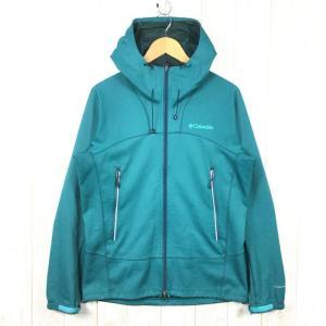 【MEN's M】コロンビア リュフェック ジャケット Ruffec Jacket ソフトシェル フーディ COLUMBIA PM3324 グリーン系|2ndgear-outdoor