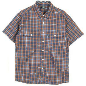 MENs M モンベル WIC.ライト ショートスリーブシャツ MONTBELL 1114278 MABN マダーブラウン ブラウン系|2ndgear-outdoor