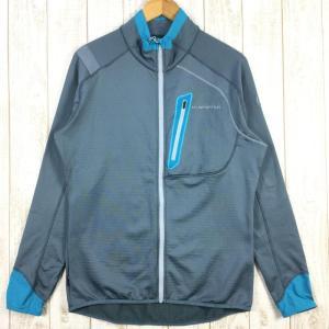 【MEN's M】スポルティバ シャマル ジャケット SHAMAL JACKET グリッド フリース ジャケット SPORTIVA J82 グレー系|2ndgear-outdoor