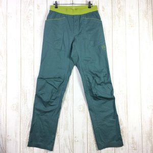【MEN's M】スポルティバ ルーツ パンツ ROOTS PANTS クライミングパンツ SPORTIVA H95 グリーン系|2ndgear-outdoor