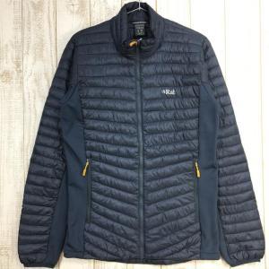 MENs S  ラブ シラス フレックス ジャケット Cirrus Flex Jacket 化繊インサレーション RAB QIO-23 グレー系|2ndgear-outdoor