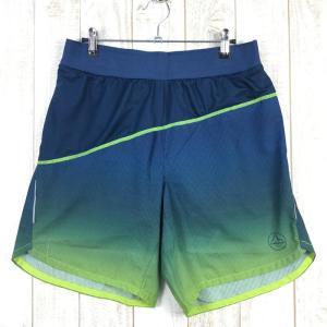 【MEN's M】スポルティバ メダル ショーツ MEDAL SHORT ランニングショーツ SPORTIVA ブルー系|2ndgear-outdoor