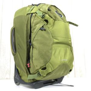 オスプレー メリディアン22 Meridian 22 ローラーバッグ バックパック トラベルパック トロリーダッフル OSPREY グリーン系|2ndgear-outdoor