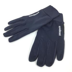 UNISEX S  パタゴニア ウインド シールド グローブ Wind Shield Gloves PATAGONIA 33336 NVYB NAVY 2ndgear-outdoor