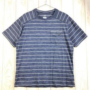 MENs M ミレー ウール ボーダー Tシャツ ショートスリーブ WOOL BORDER T-SHIRT Short Sleeved MILLET 2ndgear-outdoor