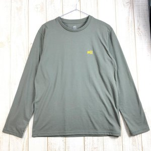 MENs S ミレー Mスケイプ Tシャツ ロングスリーブ M-SCAPE T-Sirts Long Sleeved MILLET MIV01674 2ndgear-outdoor
