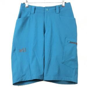 MENs XS ミレー ワナカ ストレッチ ショーツ WANAKA STRETCH SHORT MILLET MIV7709 ブルー系 2ndgear-outdoor