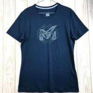 MENs M ミレー M ロゴ 2 Tシャツ ショートスリーブ M LOGO 2 TS SS MILLET MIV8445 ネイビー系 2ndgear-outdoor