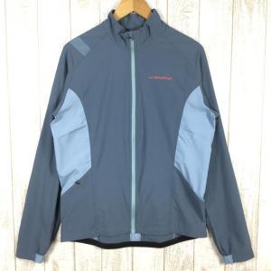 MENs L スポルティバ レヴァンテ ジャケット LEVANTE JACKET ソフトシェル ジャケット SPORTIVA J74 ブルー系|2ndgear-outdoor