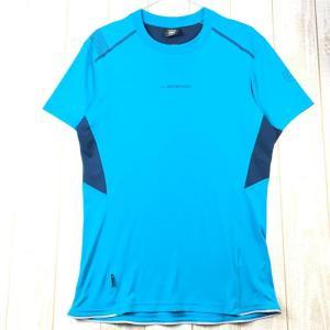 MENs M スポルティバ ブリッツ Tシャツ BLITZ T-SHIRT SPORTIVA J72 ブルー系|2ndgear-outdoor