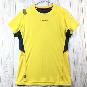 MENs M スポルティバ ブリッツ Tシャツ BLITZ T-SHIRT SPORTIVA J72 イエロー系|2ndgear-outdoor