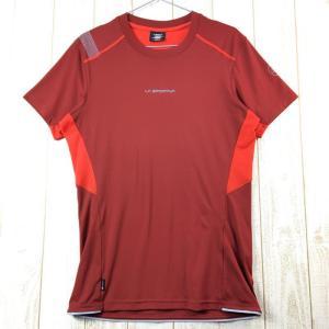 MENs M スポルティバ ブリッツ Tシャツ BLITZ T-SHIRT SPORTIVA レッド系|2ndgear-outdoor