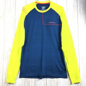 MENs M スポルティバ ツアー ロングスリーブ クルー Tour Long Sleeve Crew Tシャツ SPORTIVA L13 ネイビー系|2ndgear-outdoor