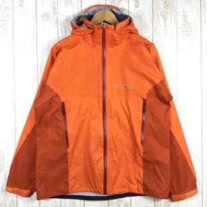 MENs L モンベル ストームクルーザー ジャケット ゴアテックス MONTBELL 1128256 FOGD フラッシュオレンジ / ダーク オレ|2ndgear-outdoor