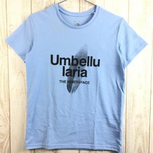 WOMENs S ノースフェイス ショートスリーブ リーフ Tシャツ S/S LEAF TEE NORTH FACE NTW31719 ブルー系 2ndgear-outdoor