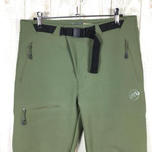 MENs S マムート ヤドキン ソフトシェル パンツ Yadkin SO Pants ヤッキン MAMMUT 1021-00160 グリーン系|2ndgear-outdoor