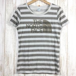 WOMENs L ノースフェイス ショートスリーブ ボーダー クルー S/S BORDER CREW Tシャツ NORTH FACE NTW11233 2ndgear-outdoor