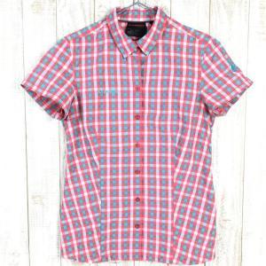 WOMENs S マムート キルシ シャツ Kirsi Shirt MAMMUT 1030-02020 レッド系|2ndgear-outdoor
