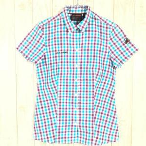 WOMENs S マムート キルシ シャツ Kirsi Shirt MAMMUT 1030-02020 ブルー系|2ndgear-outdoor