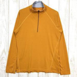 MENs M  モンベル WIC.ジップシャツ MONTBELL 1104721 オレンジ系|2ndgear-outdoor