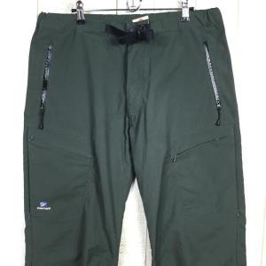 MENs XL ファイントラック ストームゴージュ アルパイン パンツ ロング丈 FINETRACK グリーン系 2ndgear-outdoor