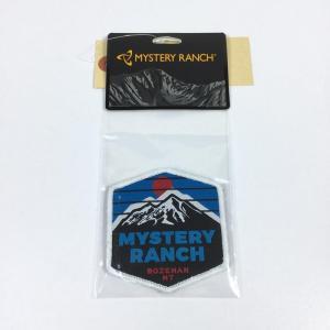 ミステリーランチ オーバー ザ マウンテン OVER THE MTN ワッペン MYSTERY RANCH ブルー系|2ndgear-outdoor