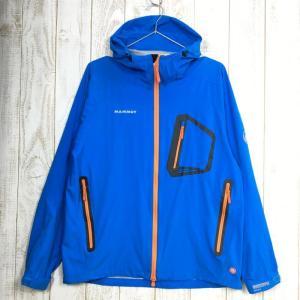 MENs S  マムート プリズム ジャケット Prism Jacket ゴアウィンドストッパー MAMMUT JP1010-12770 ブルー系|2ndgear-outdoor