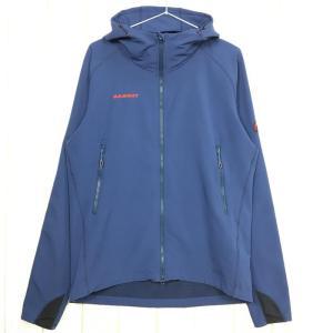 MENs M  マムート ソフテック クライムライト フーデッド ジャケット SOFtech CLIMB Light Hooded Jacket ソフ|2ndgear-outdoor