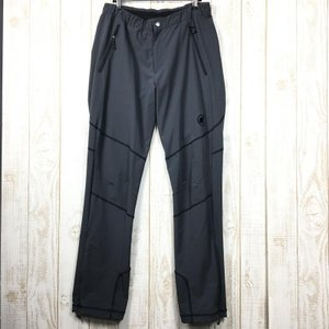 MENs 50  マムート パラドイ パンツ Pordoi Pants ソフトシェル パンツ MAMMUT 1020-08990 チャコール系|2ndgear-outdoor