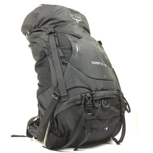 S/M  オスプレー ケストレル 48 KESTREL 48 バックパック OSPREY OS50140 ブラック系|2ndgear-outdoor