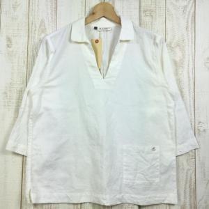 MENs L  モンベル KAMICO プルオーバーシャツ MONTBELL 2104450 ホワイト系|2ndgear-outdoor