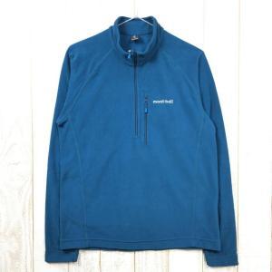 MENs M  モンベル シャミース プルオーバー フリース ジャケット MONTBELL 1104983 ブルー系 2ndgear-outdoor