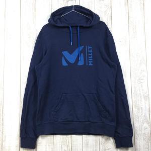 MENs M  ミレー スウェット フーディー SWEAT HOODIE パーカー プルオーバー MILLET MIV7888 ネイビー系 2ndgear-outdoor