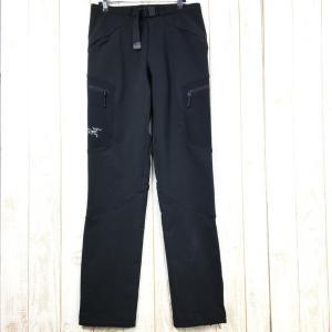 MENs S  アークテリクス ガンマ AR パンツ Gamma AR Pant ソフトシェル ARCTERYX ブラック系 2ndgear-outdoor