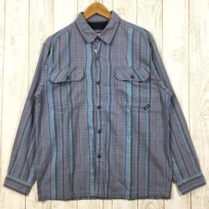 MENs S  パタゴニア フラニガン シャツ Flannigan Shirt フランネルシャツ PATAGONIA 53903 ブルー系 2ndgear-outdoor
