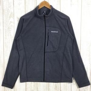 MENs M  モンベル シャミース ジャケット MONTBELL 1104981 グレー系 2ndgear-outdoor