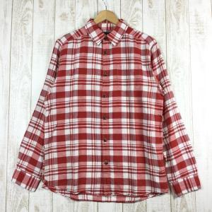 【レンタル】ノースフェイス NORTH FACE ロングリーブ アーレン シャツ Long Sleeve Arlen Shirt 海外規格  International MEN's M レッド系 2ndgear-rental-0