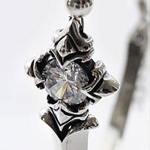 \送料無料!/ブラックスピネル(シルバースピネル) ブレスレット メンズ シルバー925 b0577 腕周り約17.5cm(+1.7cm調節可能)|2pcs|03