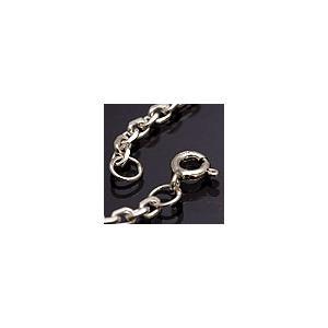 メール便なら送料無料  シルバーアクセサリー シルバーチェーン ネックレス あずきチェーン c0040 サイズ:45cm|2pcs