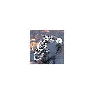 メール便なら送料無料  シルバーアクセサリー ピアス シルバー925 ハードピアス pi0259 バラ売り|2pcs