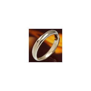 メール便なら送料無料  シルバーアクセサリー r0338 リング(指輪) メビウスの輪|2pcs