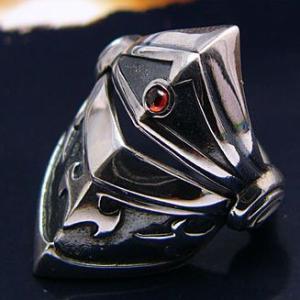 送料無料  シルバーアクセサリー シルバーリング 指輪 メンズ リング アーマーリング r0422|2pcs