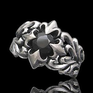 送料無料  シルバーアクセサリー シルバーリング 指輪 メンズ リング フレア r0502|2pcs