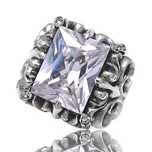 送料無料  シルバーアクセサリー シルバーリング 指輪 メンズ リング リリー・フレア r0509|2pcs