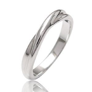 シルバーアクセサリー ペアリング[単品] リング・指輪 ブルーダイヤモンド メビウス・永遠 r0521|2pcs