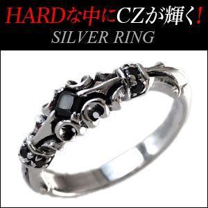 シルバーリング 指輪 メンズ フレア・百合 シルバーアクセサリー r0651|2pcs