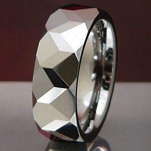 メール便なら送料無料  タングステンリング メンズ レディース リング・指輪 wr0003|2pcs