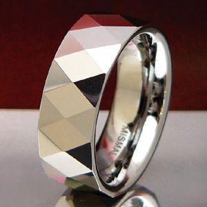 メール便なら送料無料  タングステンリング メンズ レディース リング・指輪 wr0004|2pcs